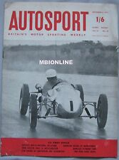 AUTOSPORT magazine 6/9/1957