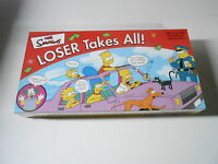 2001 BOARD GAME - NRFB SEALED - SIMPSONS LOSER TAKES ALL (S5)