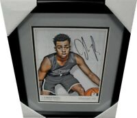 D'Angelo Russell Hand Signed Autographed 8x10 Photo Los Angeles Lakers Framed GA