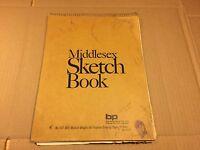 Vintage 1960s Artist's Sketchbook w/ 25 original Pencil Sketches Amateur Art