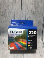 Epson DURABrite Ultra 220 Ink Cartridges - Black/Cyan/Magenta/Yellow, 4 Pack