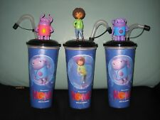 Set Home Cinema Chalice Cinema Movie Cup with 3 Topper/Figures-NEW NEW