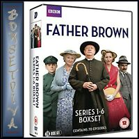 FATHER BROWN - COMPLETE SERIES 1 2 3 4 5 & 6  **BRAND NEW DVD BOXSET***