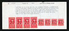 SPECIAL WARRANTY DEED WITH INTERNAL REVENUE DOCUMENTARY STAMPS 1945
