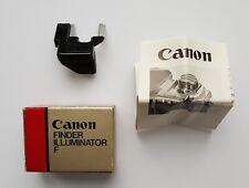 Canon F1 Finder Illuminator Type F With Original Box - Light For Old Canon F1