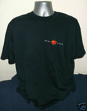 THE BEATLES Real Love promo-only black cotton mens T-shirt NEW/UNWORN [XL]