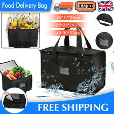 More details for delivery insulated bags food pizza takeaway thermal warm/cold bag ruck camping