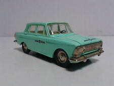 USSR CCCP Radon Saratov Russia 1:43 Moskvich 408 TAXI A1 Rare without the box