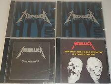 METALLICA - 4x CD SET (FACTORY PRESSED) SAN FRANCISCO 1985 + HAMILTON 1992 LIVE!