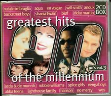 CD : Greatest Hits Of The Millennium 90's Vol.3 (2cd)