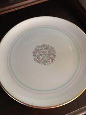 "FRANCISCAN POTTERY ROSSMORE Chop Platter, Serving Platter, Mint, 13 1/4"""