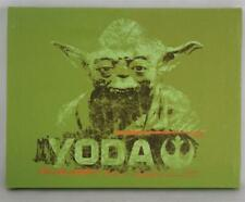 "Star Wars Yoda Artissimo Canvas Art Print Picture 8 1/2"" x 6 1/2"" Framed MINT"