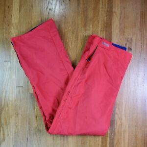 Vintage 90's Columbia Ski Snow Pants Reversible Mens Sz XL Tall Purple Red