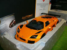 GUMPERT APPOLO S 2005 Orange au 1/18 AUTOART SIGNATURE 71302 voiture miniature