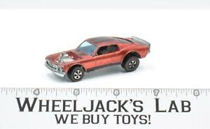 Mustang Boss Hoss 1971 Redline Hot Wheels Mattel Vintage RL