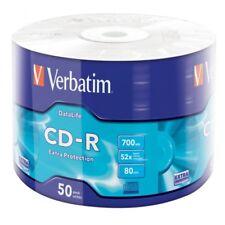 600 CD-R VERBATIM 700MB 52X Datalife Extra Protection in Shrink da 50 pz 43787
