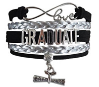 North Carolina State Wolfpack Graduation Day 2019 Women/'s Bangle Bracelet
