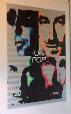 U2 Pop Vintage Music Memorabilia poster pin-up 1990's Funky Enterprises Rock