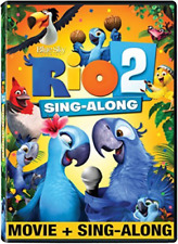 RIO 2 SING-ALONG / (WS AC3 ...-RIO 2 SING-ALONG / (WS AC3 D (US IMPORT) DVD NEW