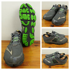 Brooks Mens Running Shoes Pure Cadence 4 Training Sneakers Grey Black Green 11