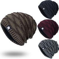 0c11688a6c40c Unisex Knit Cap Star Hedging Head Hat Beanie Cap Warm Outdoor Fashion  Winter Hat