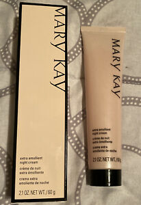 MARY KAY Extra Emollient Night Cream for Very Dry Skin ~ Face & Body - 2.1 Oz.