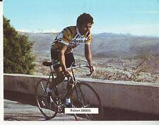 CYCLISME carte cycliste HUBERT ARBES équipe RENAULT GITANE 1979