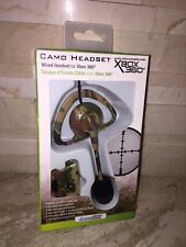 XBOX 360 CAMO WIRED HEADSET