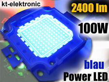 1 Stück 100W Power LED blau 450nm 2400lm Aquarium