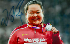 Zheng  Wang  China   WM Dritte  im  Hammerwerfen  2019