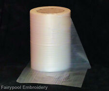 Water Soluble Solvy Embroidery Stabiliser 10 mtr long x 20cm wide folded flat