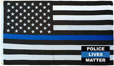 Wholesale Combo 3x5 Police USA Memorial Flag & Police Lives Matter Decal Sticker