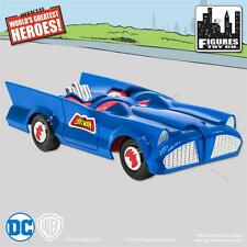 NEW RETRO mego BATMAN and ROBIN DC Comics Blue Batmobile Playset  sealed mib