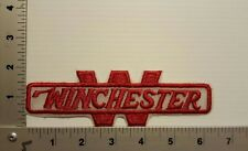 WINCHESTER GUN RIFLE  VINTAGE EMBROIDERED  PATCH