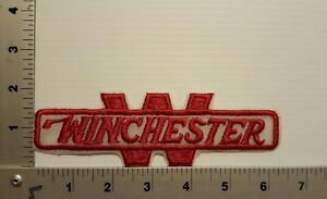 1980's WINCHESTER GUN RIFLE  VINTAGE EMBROIDERED  PATCH