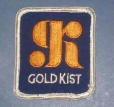 """Gold Kist Patch - vintage delivery truck driver patch - 2 1/2"""" x 2 7/8"""""""