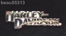 """"""" OFFICIAL LICENSED"""" 2004 HARLEY DAVIDSON .925 STERLING SILVER VEST JACKET PIN"""