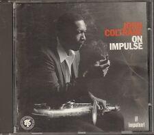 JOHN COLTRANE On Impulse CD 11 track GRP