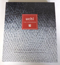 UCHI The Cookbook by Tyson Cole and Jessica Dupuy (2011, Hardcover) SIGNED