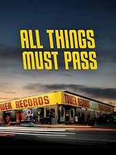 ALL THINGS MUST PASS : THE RISE & FALL OF TOWER RECORDS Region Free DVD - Sealed