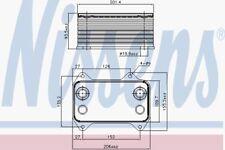Ölkühler Kühler für Motoröl NISSENS (90690)