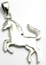 Pendentif en Argent 925 Bijoux collier Cheval horse pendant silver