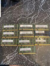 Lot Of (10) 2gb PC2 6400S Laptop Memory