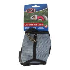 Trixie Pet Guinea Pig Soft Mesh Walking Harness & Lead Set 61512 Ferret Rabbit