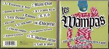 CD LES WAMPAS NEVER TRUST 15T INCLUS MANU CHAO TBE DE 2003