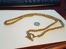 Collar de Cristal Enchapados En Oro Pesado