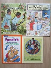 SPANISH PB LOT 4~Aprendamos del gran maestro~Rosita y Mateo Cuaderno de colorear