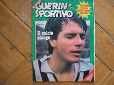 GUERIN SPORTIVO N.3 1976 BETTEGA MAZZONE STEFANO CHIODI