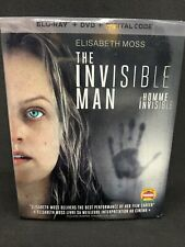 Invisible Man Blu-Ray & DVD w Slipcover Canada Bilingual NO DC LOOK