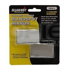 Blind Spot Mirrors x 2: Self Adhesive, Chromed, Cars & Vans - Blindspot Mirrors